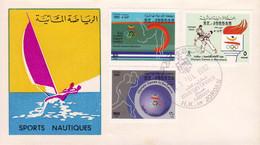 Jordan 1992, Barcelona O.G. / Judo / Diving / Plongeon / Table Tennis / Sailing / FDC - Other