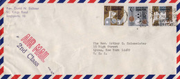 Singapore 1973, Racket Sports / Field Hockey / Basketball / Football / Swimming / Etc. / Circulated Cover - Other