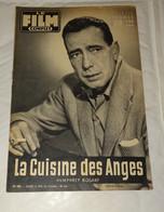 """REVUE LE FILM COMPLET, REPORTAGE SUR """" LA CUISINE DES ANGES """" AVEC HUMPHREY BOGART, 1956 - Cinéma/Télévision"""