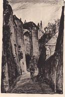 AK Laon - Porte Des Chenizelles - Gez. V. Karl Lotze - Feldpostkarte -  1. WK  (56623) - Laon