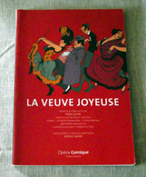Livret - Programme: La Veuve Joyeuse / Jerome Savary - Musique