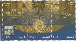 EGYPT- 2021 - THE PHARAOHS' Golden Parade (22 Royal Mummies) 3 April 2021 [MNH] - Nuovi