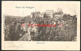 NIDEGGEN Burgruïne 1900  (mit Mi 55 2x) - Dueren