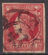 1860 Ed. 53 Matasellos Rc 43 SANTANDER - Used Stamps