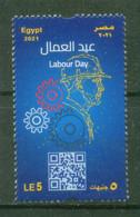 EGYPT / 2021 / LABOUR DAY / MNH / VF - Nuovi