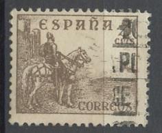 Espagne - Spain - Spanien 1938-39 Y&T N°612 - Michel N°766 (o) - 5c Le Cid Campeador - 1931-50 Used