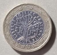2002 - FRANCIA - MONETA IN EURO  - DEL VALORE DI  1,00 EURO -  USATA - France