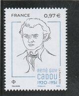 FRANCE 2020 RENE GUY CADOU NEUF YT 5381 - Neufs