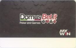 ITALIA KEY CASINO   Domus Bet - Casino Cards