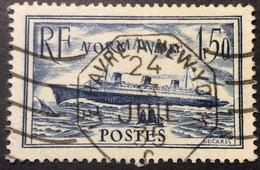 299 ° Ambulant Maritime Le Havre à New York 24/7/1935 Oblitéré Octogonal - 1921-1960: Periodo Moderno