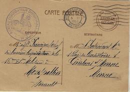 """1942- C P  ETAT Français De Montpellier """" Bureau Liquidateur Divisionnaire  16 è D. M. - Guerra Del 1939-45"""