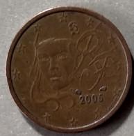 2005 - FRANCIA - MONETA IN EURO  - DEL VALORE DI  2 CENTESIMI  -  USATA - France