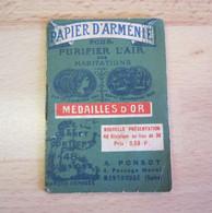 PAPIER D'ARMENIE EN CARNET DE « PONSOT – MONTROUGE » - Vintage (until 1960)