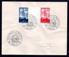 N1-29  France Beaux N° 566a Sur Lettre  A Saisir !!! - 1921-1960: Période Moderne