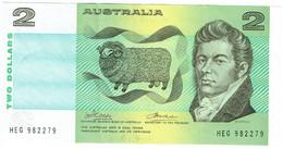 Australie - Billet De 2 Dollars - Mac Arthur & Farrer - P43a - 1974-94 Australia Reserve Bank