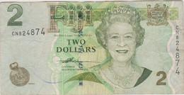 Iles Fidji - Billet De 2 Dollars - Elizabeth II - Non Daté (2007) - P109a - Figi