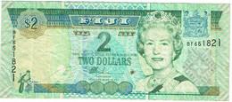 Iles Fidji - Billet De 2 Dollars - Elizabeth II - Non Daté (2002) - P104a - Figi