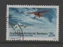 Australian Antarctic Territory S 30 1973 Definitives 25c Lockheed Used - Usados