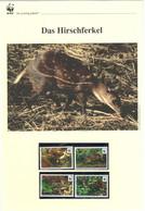 Liberia 2011 - WWF Das Hirschferkel - Komplettes Kapitel Postfrisch MK FDC - Unclassified
