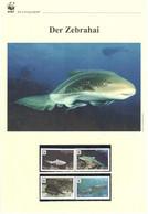 Niuafo'ou 2012 - WWF Der Zebrahai - Komplettes Kapitel Postfrisch MK FDC - Unclassified