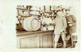 Allemande Carte Photo -  Geschäft Alkohol Interressant !!!   Soldats Allemande - WWI 1.WK - 1914-18