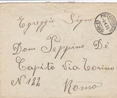 Pietransieri (Aquila) Frazionario 3-193 Del 1925 - Marcofilía