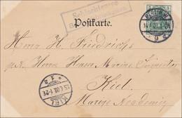 Germania: Ansichtskarte Von Schlachtensee Bei Berlin1903 - Bahnhofsbriefkasten - Zonder Classificatie