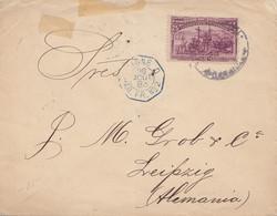 Venezuela 1893: Letter To Leipzig - Venezuela