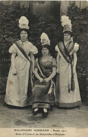 MILLENAIRE NORMAND  Rouen 1911 Reine D'Yvetot Et Ses Demoiselles D' Honneur  RV - Rouen