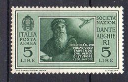 ITALIE ( AERIEN ) : Y&T  N°  29  TIMBRE  NEUF  SANS  TRACE  DE  CHARNIERE , GOMME  BICOLORE . A  SAISIR . - Correo Aéreo