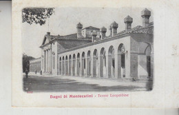 BAGNI DI MONTECATINI PISTOIA TERME LEOPOLDINE  1911 - Pistoia