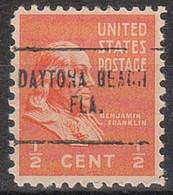 USA Precancel Vorausentwertung Preo, Locals Florida, Daytona Beach 704 - Vorausentwertungen