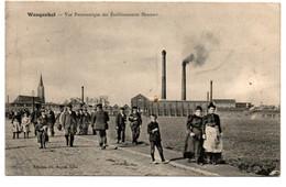 Wasquehal (59) - Vue Panoramique Des ETABLISSEMENTS HANNART - Ed: Ch. Soyez - Circulé: 1908 - 2 Scans - Lille
