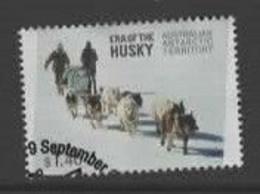 Australian Antarctic Territory  ASC 221  2014 Era Of The Husky,$ 1.40 Multicolored,Used, - Usados