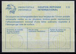 FIDSCHI / FIJI La23 International ReplyCoupon Reponse Antwortschein IAS IRC mint ** ( Vertical Watermark ) - Fiji (1970-...)
