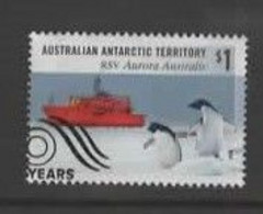 Australian Antarctic Territory  ASC 252  2018 The 30th Anniversary Of RSV Ship Aurora ,$ 1.00 Multicolored,Used, - Usados