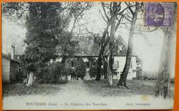 CARTE MOUCHARD - 39 - LE CHATEAU DES VARACHES -SCANS RECTO VERSO-13 - Altri Comuni