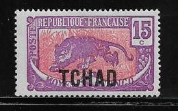 TCHAD  ( FRTCH - 19 )  1922  N° YVERT ET TELLIER    N° 6  N* - Unused Stamps