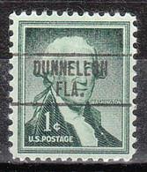 USA Precancel Vorausentwertung Preo, Locals Florida, Dunnellon 748 - Vorausentwertungen