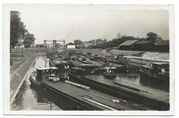 68 - HUNINGUE - Le Canal - CPSM - Huningue