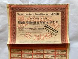 Sté  Foncière  Et  Immobilière  Du  TRÉPORT  ---------Obligation  Hypothécaire  De 500 Frs 7% - Industrie
