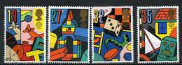 Grande-Bretagne YT 1380-1383 Neuf Sans Charnière - XX - MNH Europa 1989 - Unused Stamps