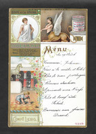 Menù Liebig BELGA M45 1-4 Zampe Al Mattino 1895 OTTIMO STATO - Liebig