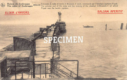 Extémité Du Môle Et Navire Brussels Coulé Fryatt - Zeebrugge - Zeebrugge