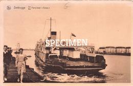 De Ferry-boat Essex - Zeebrugge - Zeebrugge