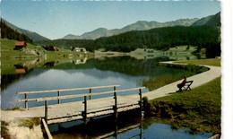 Davos - Blick Für Den See Gegen Wolfgang Und Höhwald (1024) * 7. 8. 1962 - GR Grisons