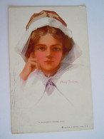 Cpa A Hundred Years Ago Nurse Verpleegster Illustr. Philip Boileau Edit Reinthal Gelopen Brussel 1913 - Boileau, Philip