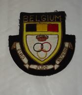 INSIGNE, ECUSSON ARBITRE : EURO JUDO REFEREE, BELGIUM, DRAPEAU BELGE, BELGIQUE - Stoffabzeichen