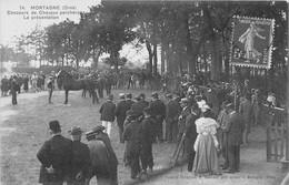 MORTAGNE SUR HUISNE - Concours De Chevaux Percherons - La Présentation - Autres Communes