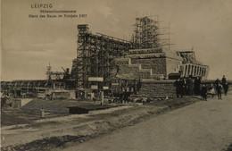 Leipzig // Volkerschlachtdenkmal - Stand Des Baues I'm Fruhjahe 1907 // 19?? Selten - Leipzig